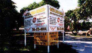 Real Estate Signs from Instant Signs Miami