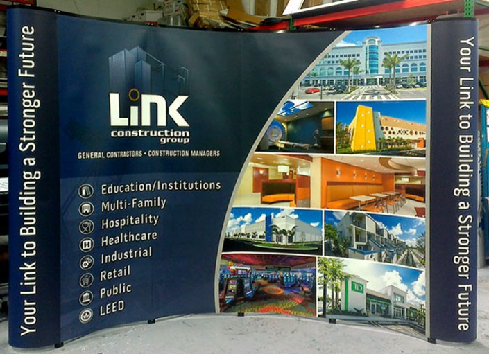 Link Booth Graphic