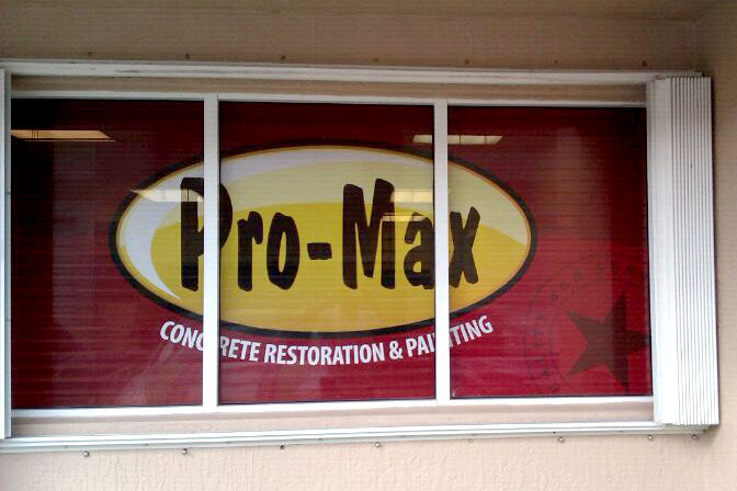 Digital Perforated Window Graphics.