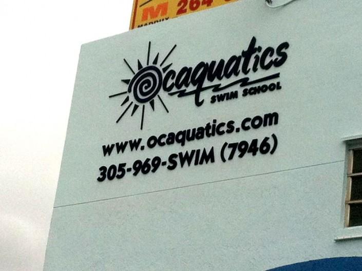 PVC Letters Ocaquatics