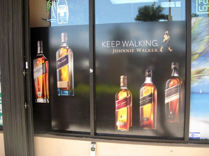 Digital Perforated Window Graphics