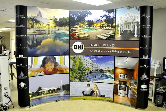 BHI Booth Graphic