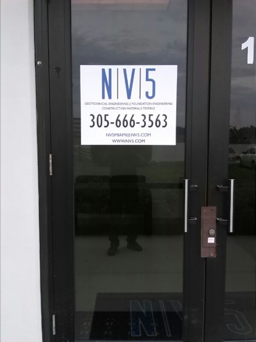 Door Vinyl Graphics