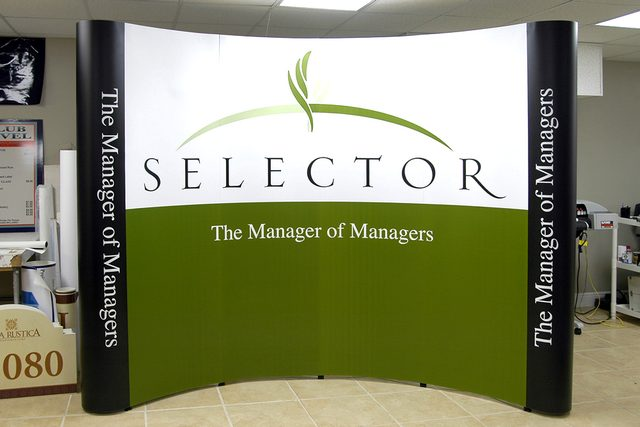 Selector Booth Graphic