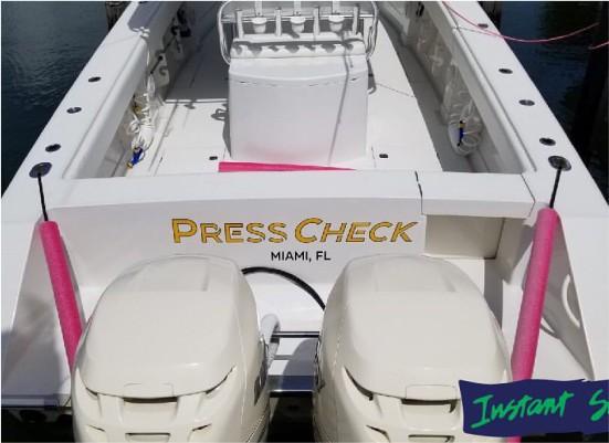 lettering boat 2
